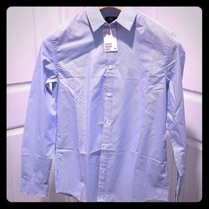 Men's NEW H&M long sleeve dress shirt
